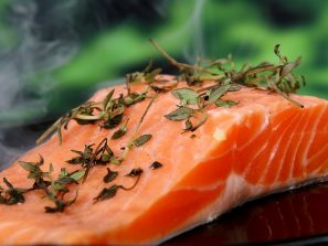 Losos omega 3 mastné kyseliny