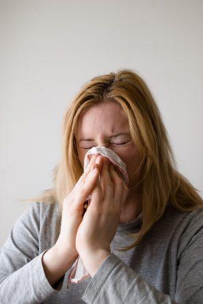 rýma alergie