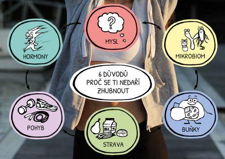 ebook 6 důvodů proč se ti nedaří zhubnout