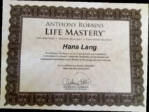 certifikát detox mastery Hany Lang na Fidži