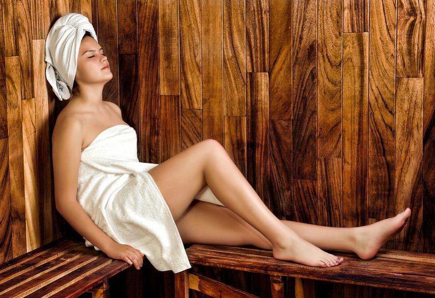saunování a detoxikace